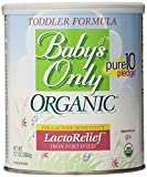 Babys Only Toddler Formula, Lactose Relief, Organic, 12.7-Ounce Can