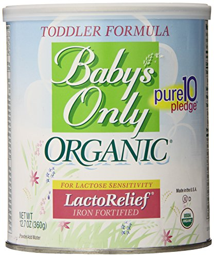 Baby's Only Toddler Formula, Lactose Relief, Organic, 12.7-Ounce Can - 1