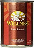Wellness Complete Health Natural Wet Canned Dog Food, Senior Health Chicken & Sweet Potato Recipe, 12.5-Ounce Can (Value Pack of 12)