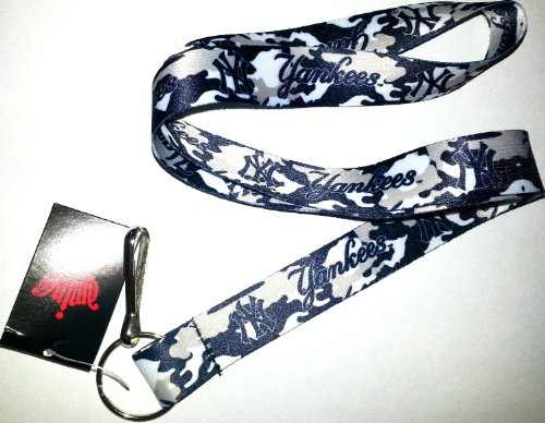 New York Yankees Team Color Camouflage Lanyard