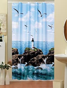beautiful extra long shower curtain wide 240cm x length