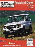 Revue technique automobile Toyota Land Cruiser, BJ et HJ Moteurs, diesel