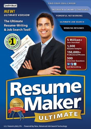 Resumemaker Ultimate 5 (Old Version) [Download]