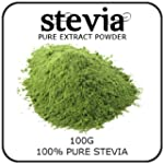 100% Pure Stevia Extract Powder 100g
