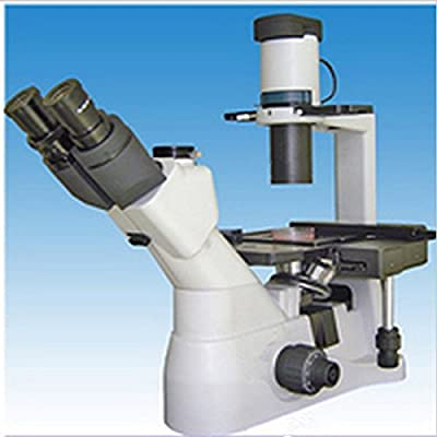 GOWE Second-hand Profession Biological Microscope Max 1000X Inversion Optical Observing The Cultivation Of Cells For Teaching Lab