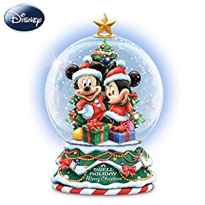 Disney A Swell Holiday Miniature Snowglobe by The Bradford Exchange by The Bradford Exchange