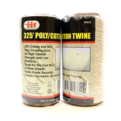 IIT 48820 Poly/Cotton Twine 325 Feet - 2 Rolls