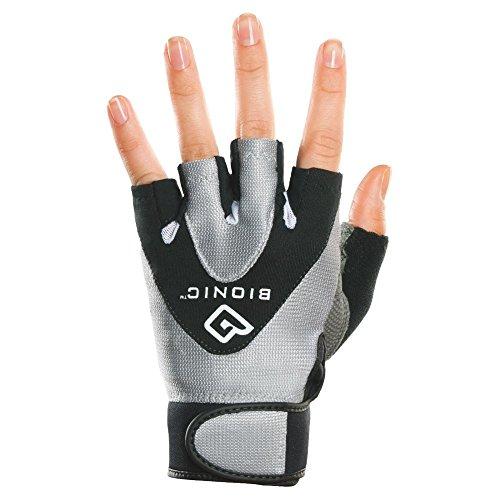 Bionic Women's StableGrip 1/2 Finger Fitness Gloves