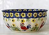 ポーリッシュポタリー (ポーランド食器) ボウルM 中鉢 径17cm|CM84-ALC59
