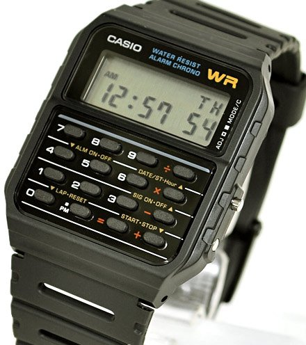 [Casio] CASIO watch data bank overseas model Calculator CA-53W-1...