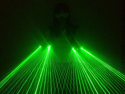 Getop Hand Made LED Stage Gloves Dj Club Show Laser Gloves 40