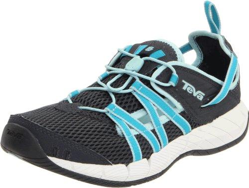 Teva Women's Churn Evo Algiers Blue Water Shoe 1000220 3.5 UK, 5 US