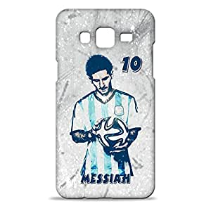 ezyPRNT Hard Back case for Samsung Galaxy J7 Lionel Messi 'Messiah' Football Player