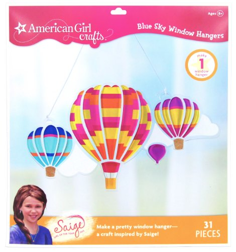 American Girl Crafts Blue Sky Window Hanger Kit, 2013 Girl of The Year Saige