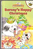 img - for Barney's Happy Christmas book / textbook / text book