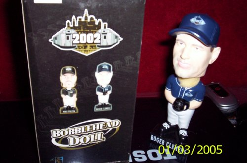 ROGER CLEMENS 2002 BOBBLE HEAD DOLL - 1