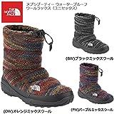 (ザノースフェイス)THE NORTH FACE ブーツ/ヌプシブーティー ウォータープルーフウールラックス(ユニセックス)/NF51593 23cm (BW)ブラックミックスウール nf51593-BW-23