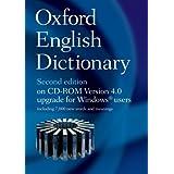 Oxford English Dictionary on CD ROM 4.0 Upgrade ~ John Simpson