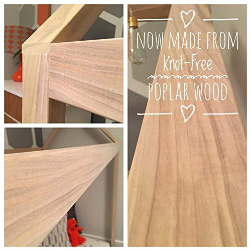 House Bed Frame Full Size PREMIUM WOOD