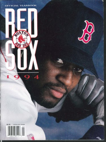 Boston Red Sox Official Yearbook 1994 Roger Clemens Mo Vaughn ++ at Amazon.com