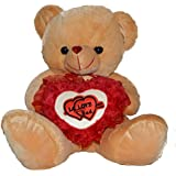 Toyzstation FL Teddy Bear With Love Heart Soft Toy For Valentine (30)