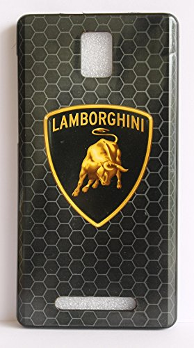 Vcare Shoppe Exclusive Silicon Printed Soft Back Case Cover For Xolo Era - LAMBORGHINI