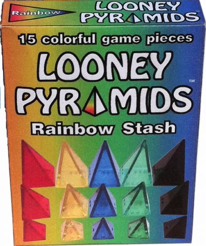 Looney Pyramids Rainbow Stash - 1