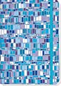 Blue Mosaic Journal (Notebook, Diary) (Small Journal)