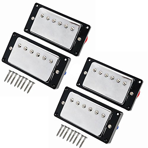 kmise-humbucker-pickup-chrome-for-gibson-les-paul-replacement-pack-of-2