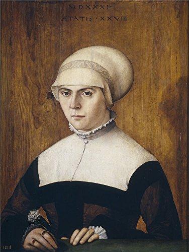 amberger-cristoph-la-esposa-de-jrg-zrer-con-28-anos-1531-oil-painting-16-x-21-inch-41-x-54-cm-printe