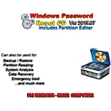 Recovery Boot Password Reset CD Disc for Windows XP, Vista, 7, 8 (All Versions of Windows)