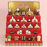 薬師窯雛人形錦彩華みやび五段飾り雛(2484)