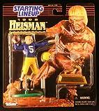 PAUL HORNUNG / NOTRE DAME ACADEMY * 1998 NCAA College Football HEISMAN COLLECTION Starting Lineup Action Figure, Football Helmet & Miniature 1956 Heisman Memorial Trophy