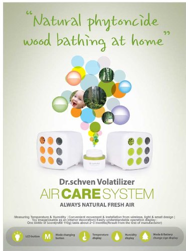 AIR CARE SYSTEM ,Volatilizer . Dr.Schven (Phytoncide Air Purifier compare prices)