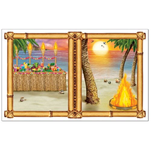 Luau Sunset Insta-View Party Accessory (1 count) (1/Pkg)