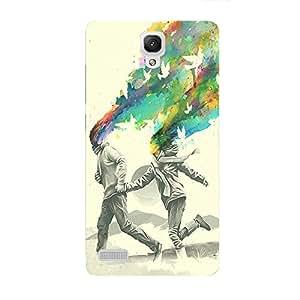 Back cover for Redmi Note 3G,4G Colourful Escape