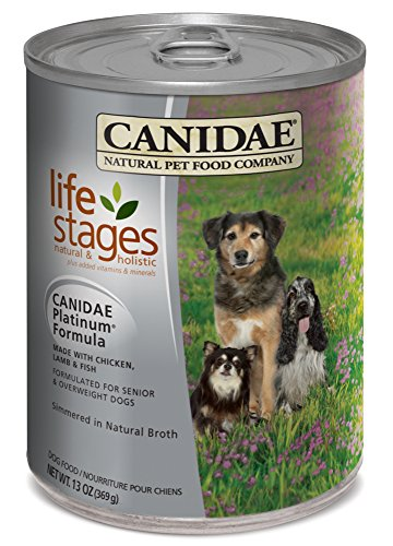 Canidae Platinum Can Formula For Senior And Overweight Dogs 13-Ounce, 12-Pack