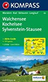 Walchensee, Kochelsee, Sylvenstein-Stausee. 1 : 25 000: Wanderkarte mit Kurzf�hrer, Radrouten und Skitouren. GPS-genau und Aktiv Guide