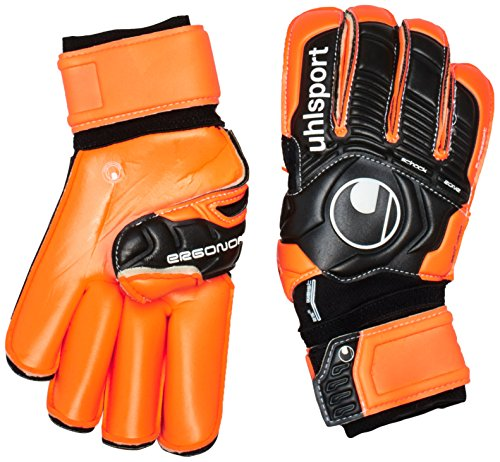 Uhlsport Guanti da giocatore Ergonomic Supersoft Rf Black / Orange 8