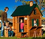 Adventure Playsets Adventure Playhouse with Lounge Chair and Toy Storage Bench