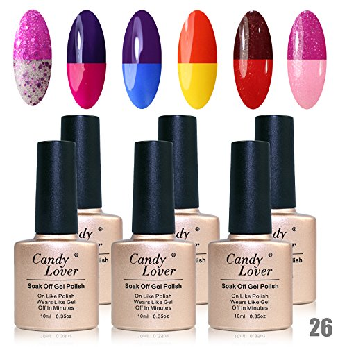 Candy-Lover-Temperature-Changing-Nail-Polish-UV-Gel-Polish-Christmas-Gifts-6-Pcs-10ml
