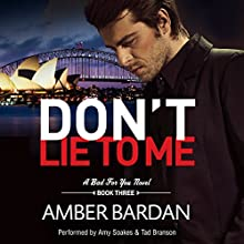Don't Lie to Me Audiobook by Amber Bardan Narrated by Amy Soakes, Tad Branson