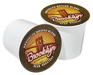 Brooklyn Bean Roastery Coffee, Brooklyn Bridge Blend, Single Serve Cup for Keurig K-Cup Brewers, 36-Count