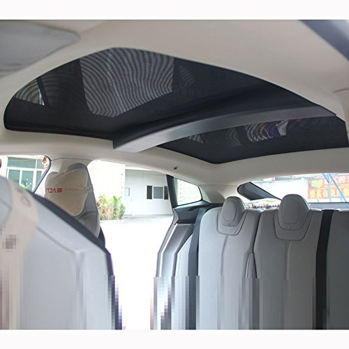 Topfit Sunroof Sunshade for Tesla Model S (2 of Set) (Tesla Model S compare prices)