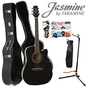 jasmine by takamine es31c acoustic electric guitar kit includes planet waves strap planet. Black Bedroom Furniture Sets. Home Design Ideas
