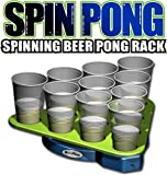 Spin Pong :: Rotating Beer Pong Rack #6463
