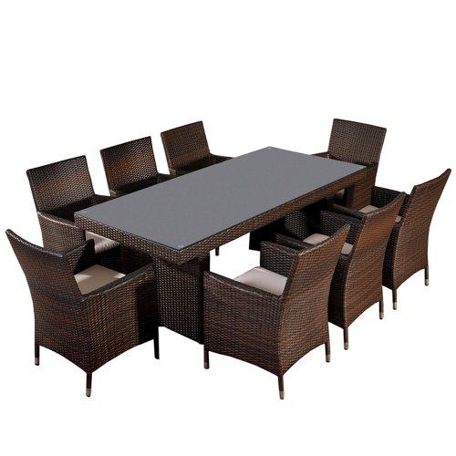 sitzgruppe sitzgarnitur gartengarnitur avignon big. Black Bedroom Furniture Sets. Home Design Ideas