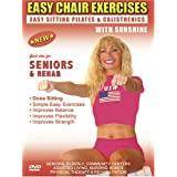 Seniors Exercise DVD: Senior / Elderly Sitting Exercises DVD, Easy Sitting PILATES Strength, Rehab & Physical Therapy. Seniors Elderly Exercises DVD. This Sitting Seniors Fitness DVD is Good also for Easy Osteoporosis Exercises, Diabetes Exercises, Arthritis Exercises, Alzheimer's Exercises DVD. ~ Sunshine