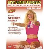 Seniors Exercise DVD: Senior / Elderly Sitting Exercises DVD, Easy Sitting PILATES Strength, Rehab & Physical Therapy. Seniors Elderly Exercises DVD. This Sitting Seniors Fitness DVD is Good also for Easy Osteoporosis Exercises, Diabetes Exercises, Arthritis Exercises, Alzheimer's Exercises DVD. ~ Sunshine