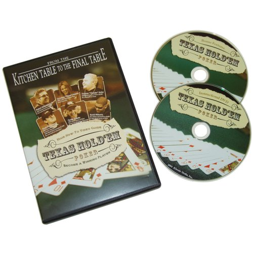 Trademark Poker Kitchen Table to Final Table 2 DVD Pack, Multi